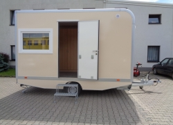 Mobile trailer 87 - accommodation
