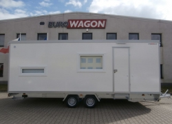 Mobile trailer 56 - accommodation