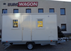 Mobile trailer 85 - accommodation