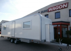 Mobile trailer 48 - accommodation