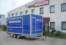 Mobile Wagen 13 - Ausstellungsangänger