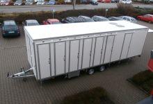 Mobile Wagen 35-Toiletten