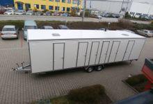 Mobile Wagen 39 - Dusche + Toiletten