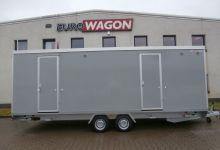 Mobile Wagen 40-Toiletten