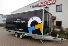 Mobile Wagen 44-Mobile Umkleideraum