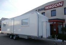 Mobile trailer 48-accommodation