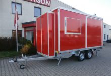 Mobile Wagen 51-Büro
