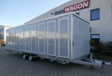 Mobile Wagen 52-Toiletten